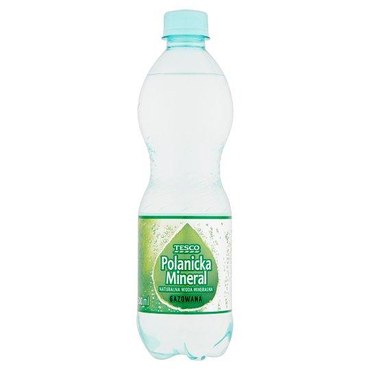 Tesco Polanicka Mineral Sparkling Natural Mineral Water 500 ml