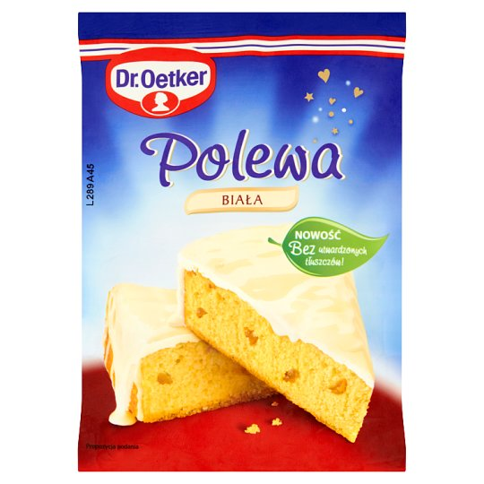 Dr. Oetker White Instant Coating 100 g