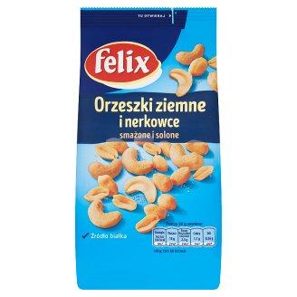 Felix Orzechy ziemne i nerkowce solone 240 g
