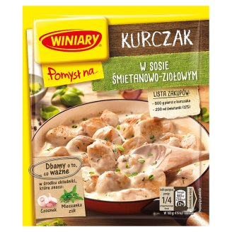 Winiary Pomysł na... Chicken in Creamy Herb Sauce 30 g