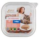 Tesco Pet Specialist Karma dla dorosłych kotów pasztet z łososiem i pstrągiem 100 g