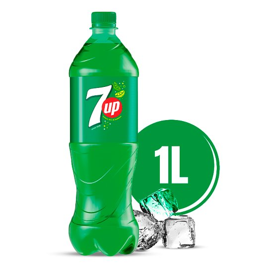 7UP Carbonated Drink 1 L