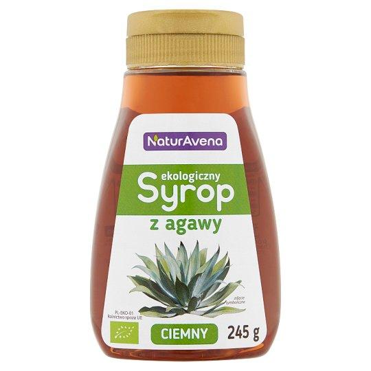 NaturAvena Ekologiczny syrop z agawy ciemny 245 g