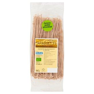 Makaron pełnoziarnisty z orkiszu ekologiczny spaghetti 400 g