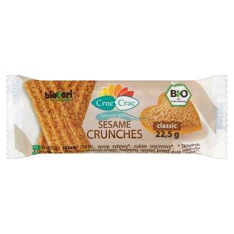 Croc Crac Classic Bio Sesame Crunches 22.5 g
