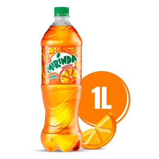 Mirinda Orange Napój gazowany 1 l