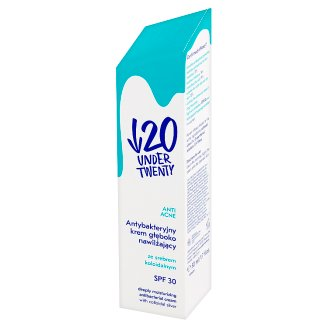 Under Twenty Anti Acne Deeply Moisturizing Antibacterial Cream 50 ml