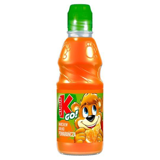 Kubuś Go! Carrot Apple and Orange Juice 300 ml