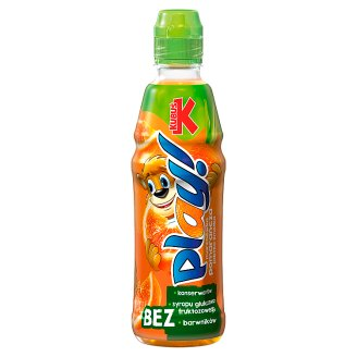 Kubuś Play! Carrot Orange Apple and Lime Drink 400 ml