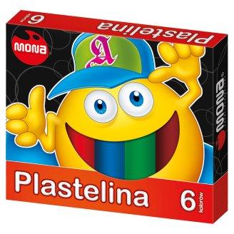 Mona Plastelina 6 kolorów