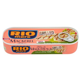 Rio Mare Grilled Mackerel Fillets in Extra Virgin Olive Oil 120 g