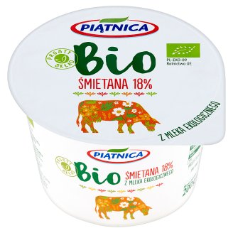 Piątnica Bio 18% Soured Cream 200 g
