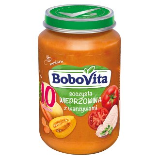 BoboVita Juicy Pork with Vegetables after 10 Months Onwards 190 g