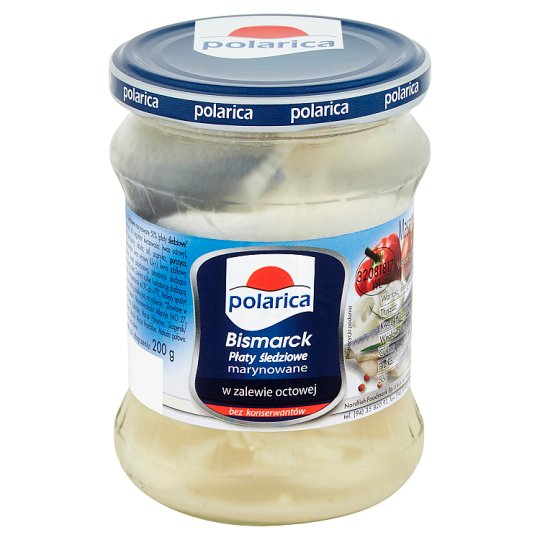 Polarica Bismarck Marinated Herring in Vinegar 400 g