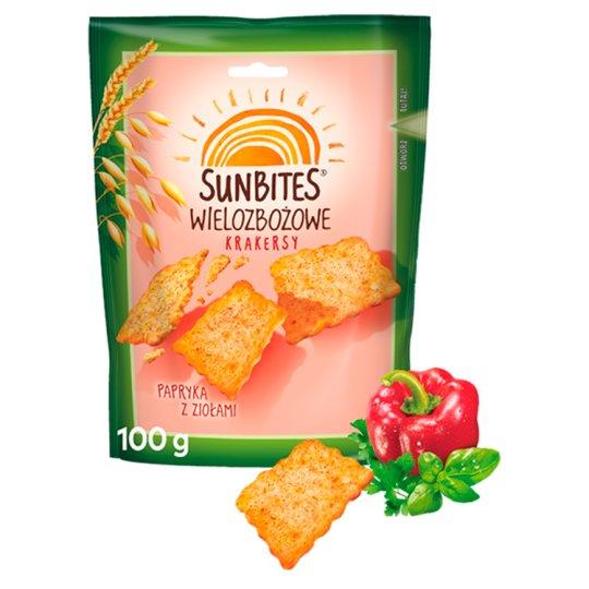 Sunbites Paprika with Herbs Multigrain Crispy Snacks 100 g