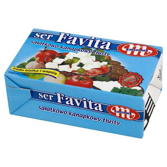 Mlekovita Favita Full Fat Salad-sandwich Cheese 270 g