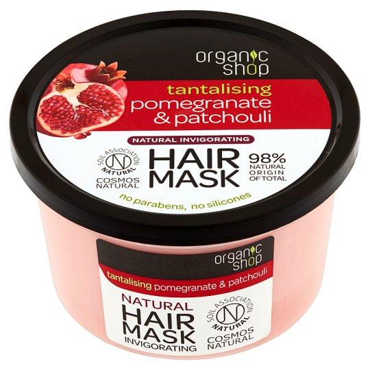 Organic Shop Tantalising Pomegranate & Patchouli Hair Mask 250 ml