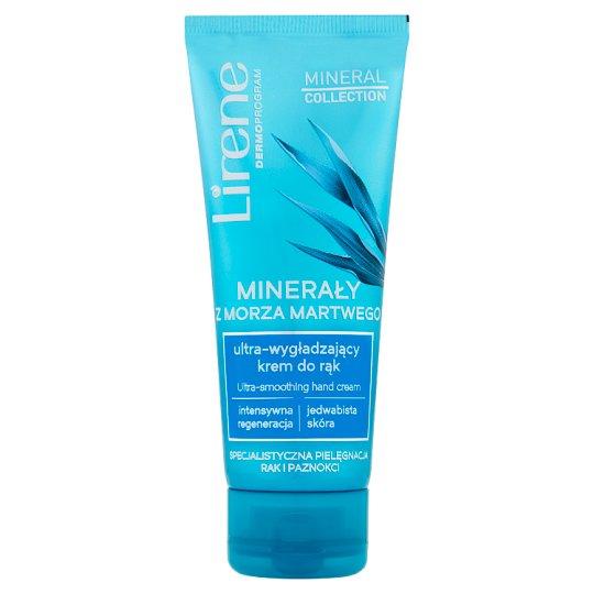 Lirene Mineral Collection Minerały z Morza Martwego Ultra-wygładzający krem do rąk 75 ml
