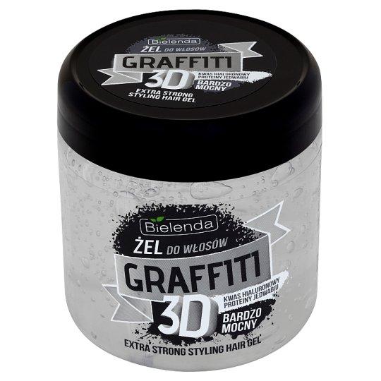 Bielenda Graffiti 3D Żel do włosów bardzo mocny 250 g
