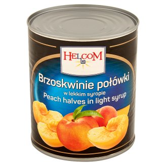 Helcom Peach Halves in Light Syrup 820 g