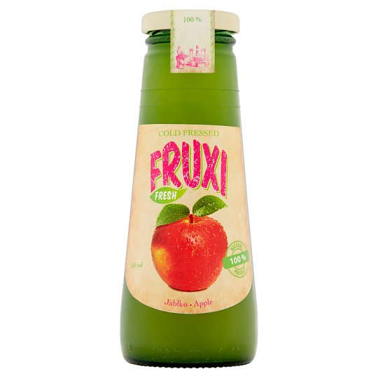 Fruxi Fresh Apple 100% Natural Juice Pressed from Fresh Fruits 250 ml