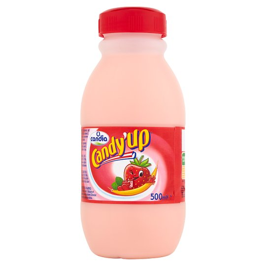 Candia Candy'Up Strawberry Flavour Milk Drink 500 ml