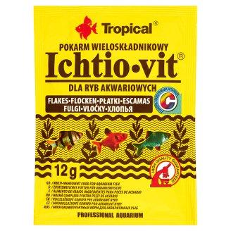 Tropical Ichtio-vit Flakes Multi-ingredient Food for Aquarium Fish 12 g