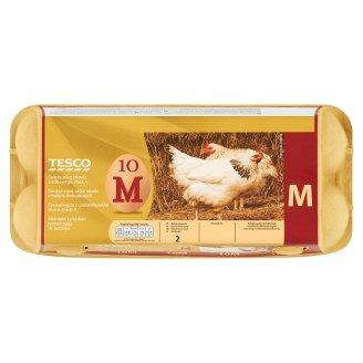 Tesco Fresh Barn Eggs Size M 10 Pieces