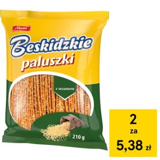 Aksam Beskidzkie Sticks with Sesame 210 g