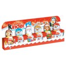 Kinder Snowman Figure Covered with Milk Chocolate 90 g (6 Pieces)