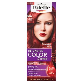 Palette Intensive Color Creme Hair Colorant Flaming Red RI6