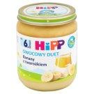 HiPP BIO Owocowy Duet Banany z twarożkiem po 6. miesiącu 160 g
