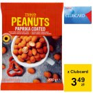 Tesco Peanuts Paprika Coated 200 g