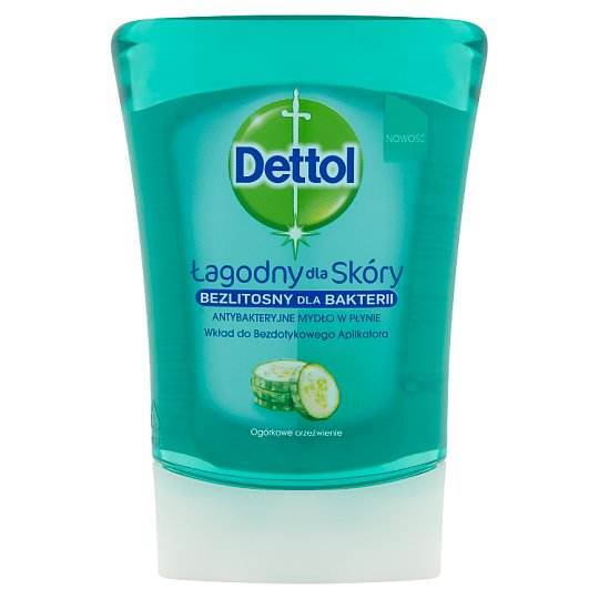 Dettol Refreshing Cucumber Refill for Touchless Soap Applicator 250 ml