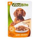VitalBite Karma dla psów z kurczakiem w sosie 85 g