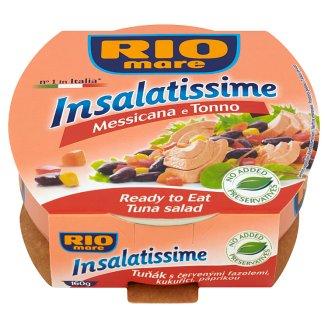 Rio Mare Insalatissime Messicana e Tonno Ready to Eat Tuna and Vegetable Salad 160 g