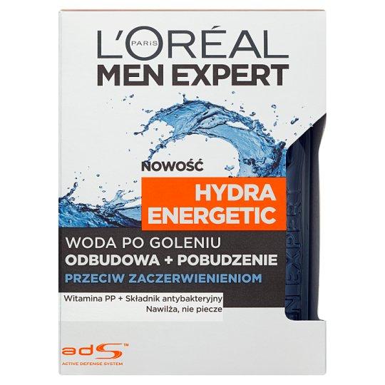 L'Oreal Paris Men Expert Hydra Energetic Woda po goleniu przeciw zaczerwienieniom 100 ml