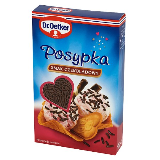 Dr. Oetker Chocolate Flavoured Topping 80 g