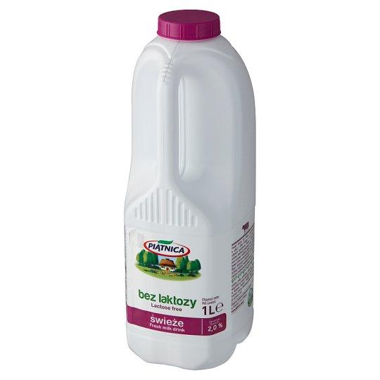 Piątnica Wiejskie bez laktozy Mleko 1 l