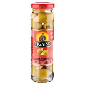 Figaro Green Olives Stuffed with Almond 142 g