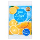 Tesco Lemon Flavour Soft Jelly 3 x 38 g