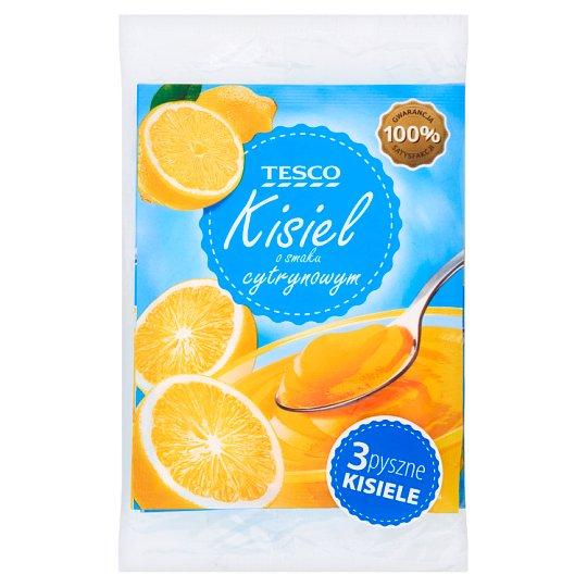 Tesco Lemon Flavour Soft Jelly 3 x 38 g