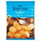 Tesco Salted Wavy Chips 130 g
