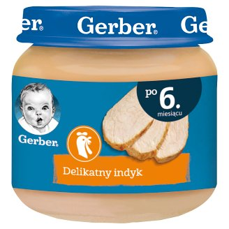 Gerber Moje pierwsze mięsko Delicate Turkey after 6 Months Onwards 80 g
