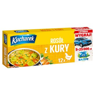 Kucharek Chicken Noble Broth 120 g (12 Cubes)