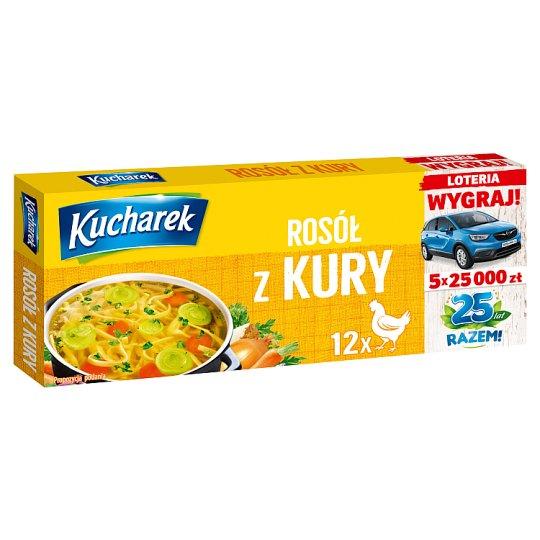 Kucharek Chicken Broth 120 g (12 x 10 g)