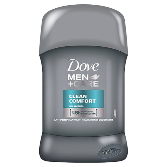 Dove Men+Care Clean Comfort Anti-Perspirant Deodorant 50 ml