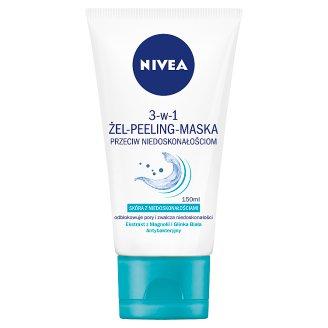 NIVEA 3-w-1 Żel-peeling-maska przeciw niedoskonałościom 150 ml