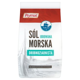 Prymat Fine-grained Iodized Sea Salt 1000 g