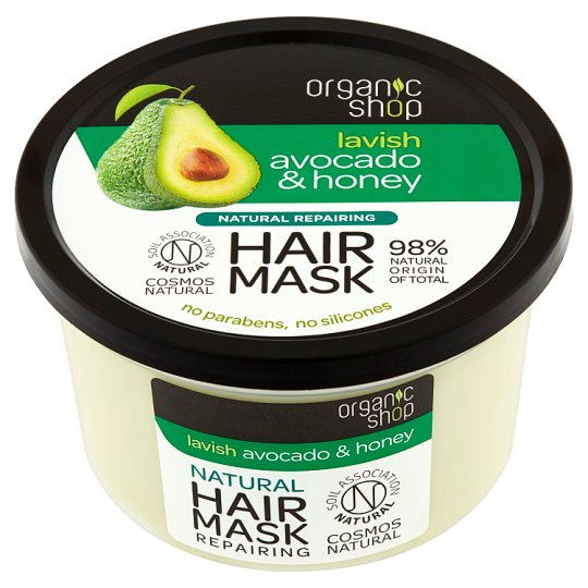 Organic Shop Lavish Avocado & Honey Hair Mask 250 ml